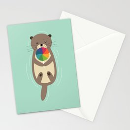 Sweet Otter Stationery Cards