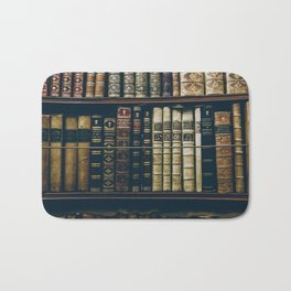 The Bookshelf (Color) Bath Mat