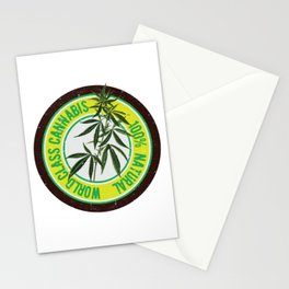 World Class Cannabis Stationery Cards