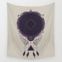cosmic Wall Tapestries featuring Cosmic Dreaming by Hector Mansilla