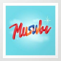 Musubi Art Print