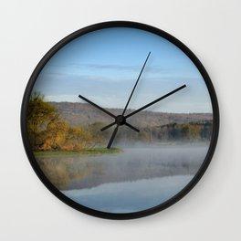 Sunrise Mirror Landscape Wall Clock