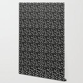 Black and White Dalmatian Wallpaper
