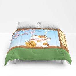 Maneki Neko Comforters