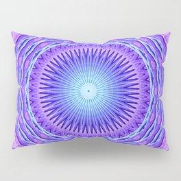 Time Rift Mandala Pillow Sham