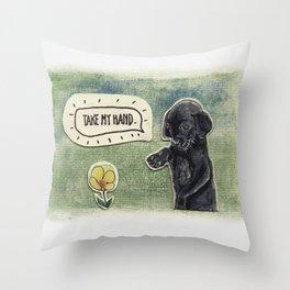 Little Friend Throw Pillow