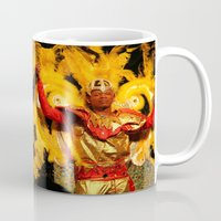 carnival Mugs featuring Carnival by Trevor Jolley