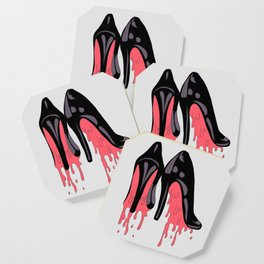 Bloody Shoes Coaster