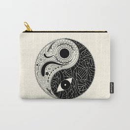 Yin & Yang - [collaborative art with Magdalla del Fresto] Carry-All Pouch