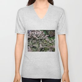 Life on a Fallen Tree Unisex V-Neck