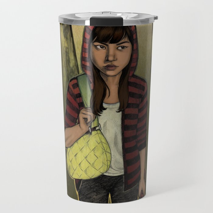 There Are Wolves in the World Travel Mug