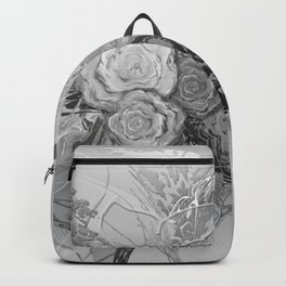 50 Shades of lace Silver Silver Backpack