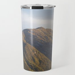 Lake Como Hills at Sunset Travel Mug