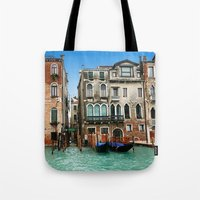 venice Tote Bags featuring Venice by Shannon McCullough-Wight