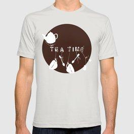 Brown Tea Time T-shirt