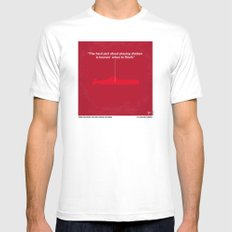 No198 My The Hunt for Red October minimal movie poster Mens Fitted Tee LARGE White