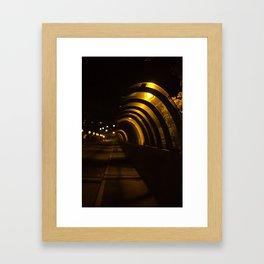 Grafton Glow Framed Art Print