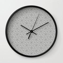 Going Round and Round - Stone Grey Wall Clock