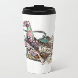 Floral Fashion Travel Mug