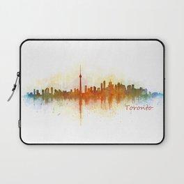 Toronto Canada City Skyline Hq v03 Laptop Sleeve