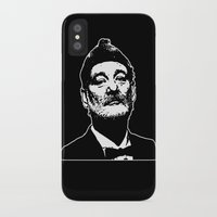 bill murray iPhone & iPod Cases featuring Bill Murray Special Edition  by Spyck