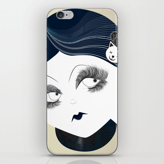 Savanah Black iPhone & iPod Skin