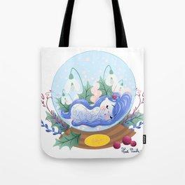 Miss Hiver Tote Bag