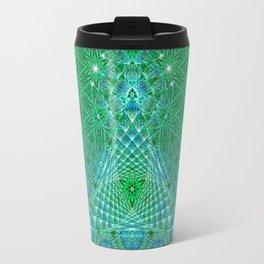 Lifeforms | Sacred geometry Travel Mug