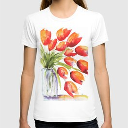 Tulips Overflowing T-shirt
