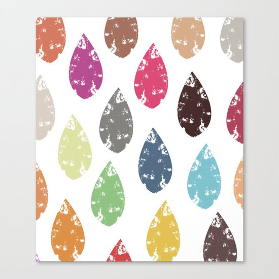Colorful leaf Canvas Print