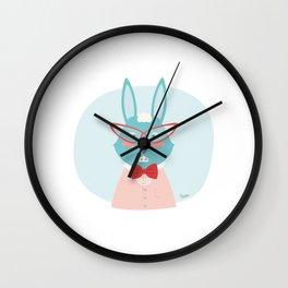 Fancy Rabbit Wall Clock