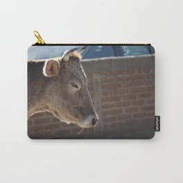 A Photogenic Cow Carry-All Pouch