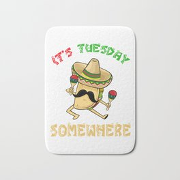 Tuesday Somewhere - Cinco De Mayo  Bath Mat