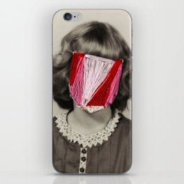 The Face of an Angle iPhone Skin