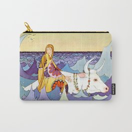 """""""Europa and the Bull"""" by Virginia Sterrett Carry-All Pouch"""