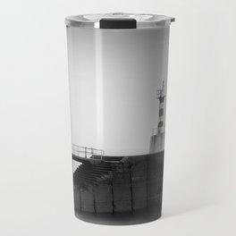 Amble Lighthouse Travel Mug