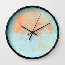 Informal sun Wall Clock