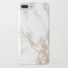 Rosey Marble iPhone Case