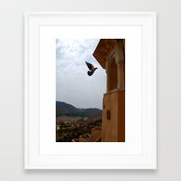 wings Framed Art Prints featuring Wings by Nyay Bhushan