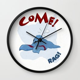 Come! Rag! Wall Clock