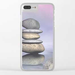balance -5- Clear iPhone Case