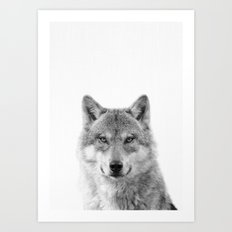 Wolf Photography [wild animal_forest animal_fine art animal photography_poster animal_animal photo] Art Print