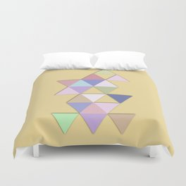 Abstract #809 Passages Duvet Cover