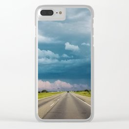 Into the Storm Clear iPhone Case