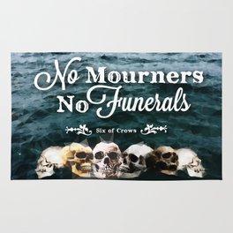 No Mourners - White Rug
