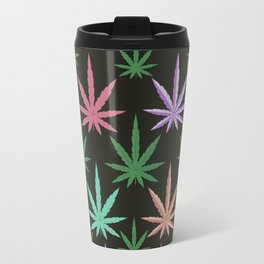 Marijuana Muted Colors Travel Mug