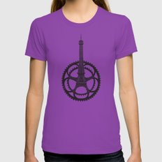 Le Tour de France Ultraviolet X-LARGE Womens Fitted Tee