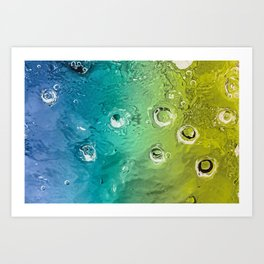 water movement Art Print