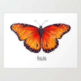 Sunset Fireflies Art Print