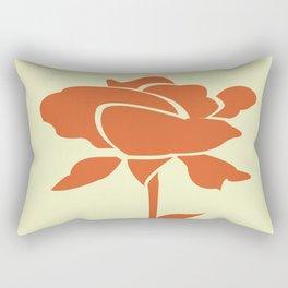 A Single Rose in My Garden Rectangular Pillow